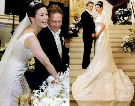 Catherine Zeta-Jones with Husband Michael Douglas